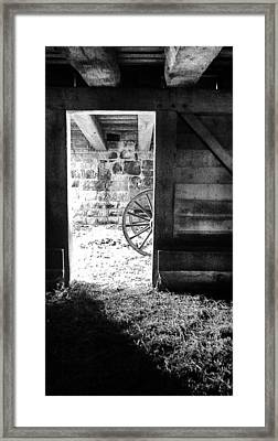 Doorway Through Time Framed Print