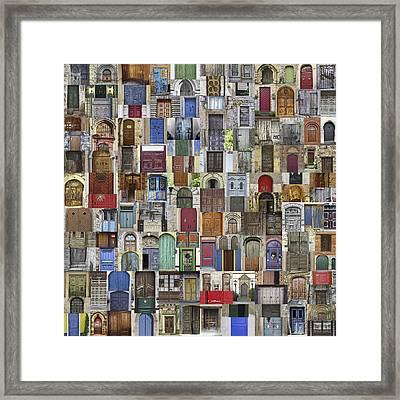Door World Framed Print by Daniel Hagerman