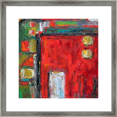 Doors And The Door Framed Print by Becky Kim
