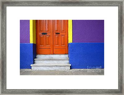 Doors And Windows Buenos Aires 11 Framed Print