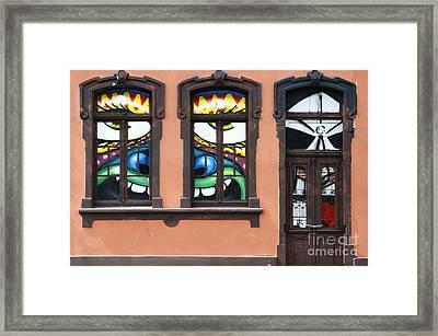 Doors And Windows Curitiba Brazil 1 Framed Print