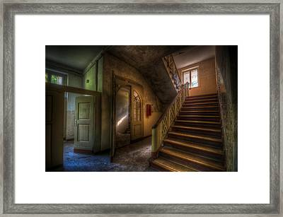 Doors Ans Stairs Framed Print by Nathan Wright