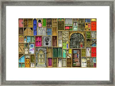 Doors Closed Framed Print by Colin Thompson