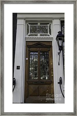 Doors Of Amsterdam 01 Framed Print by Teresa Mucha
