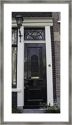Doors Of Amsterdam 02 Framed Print by Teresa Mucha
