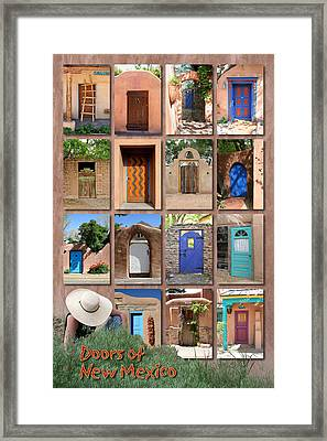 Doors Of New Mexico II Framed Print by Heidi Hermes