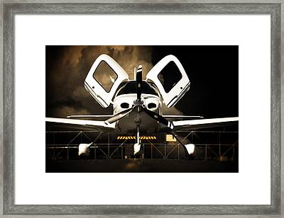 Doors Open Framed Print
