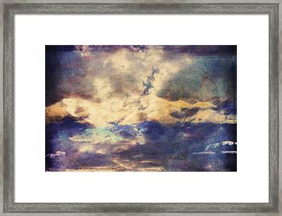 Doors To Another World Abstract Framed Print by Georgiana Romanovna