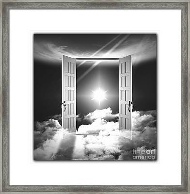 Doors To Paradise Framed Print by Stefano Senise