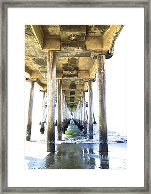 Doorway To Heaven II Framed Print by Margie Amberge