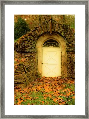 Doorway To The Outside Framed Print