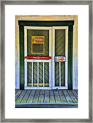 Doorway To The Past Framed Print by Kenny Francis