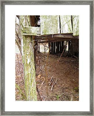 Framed Print featuring the photograph Doorway To The Past by Nick Kirby