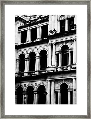 Doorways And Arches Framed Print