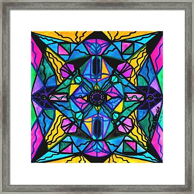 Dopamine Framed Print by Teal Eye  Print Store