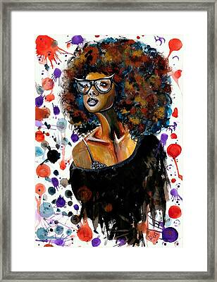 Dope Chic Framed Print