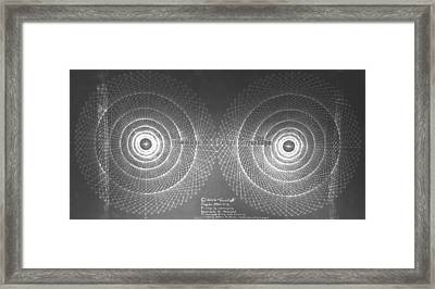 Doppler Effect Parallel Universes Framed Print