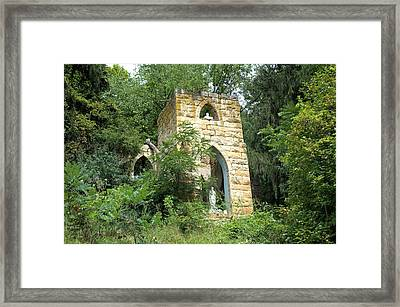 Dorchester Grotto Framed Print