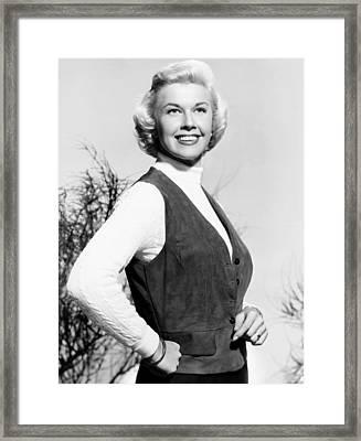 Doris Day, Ca. Early 1950s Framed Print