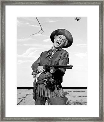 Doris Day In Calamity Jane  Framed Print