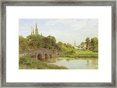 Dorking  Framed Print by Henry Sutton Palmer