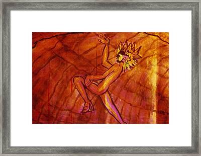 Dormant Soul Framed Print by Shakti Brien