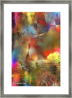 Dormeur Framed Print by Francoise Dugourd-Caput