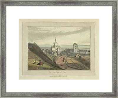 Dornoch Town In Sutherlandshire Framed Print by British Library
