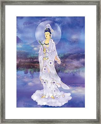 Framed Print featuring the photograph Doro Guanyin by Lanjee Chee