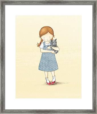 Dorothy Framed Print by Amanda Francey