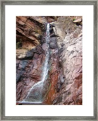 Dorothy Falls Main Waterfall Framed Print