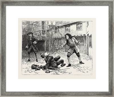 Dorothy Forster  For Mr. Fenwick Without Waiting Framed Print by English School