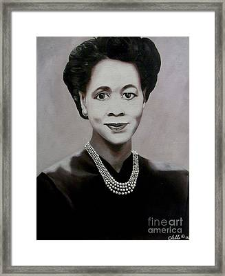 Dorothy Height Framed Print