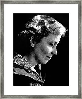 Dorothy Hodgkin Framed Print by Emilio Segre Visual Archives/american Institute Of Physics