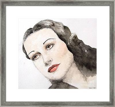 Dorothy Lamour Framed Print