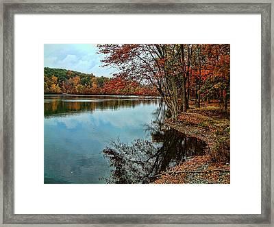 Dorothy Pond Millbury Ma Framed Print by Mike McCool