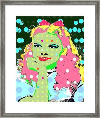 Dorothy Framed Print by Ricky Sencion