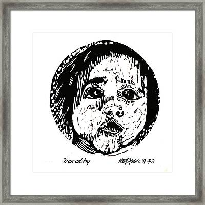 Dorothy Framed Print by Seth Weaver