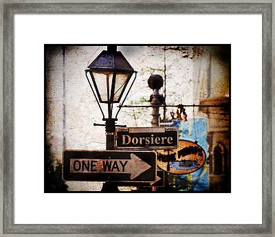 Dorsiere Framed Print by Ray Devlin