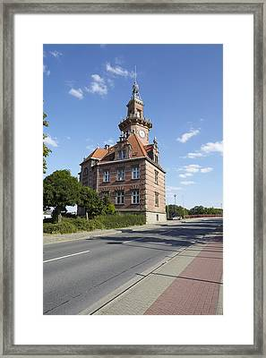 Dortmund - Old Port Authority Framed Print by Olaf Schulz
