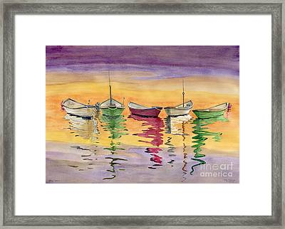 Dory Colors Framed Print