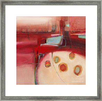 Dory On The Quay Framed Print by Michelle Abrams