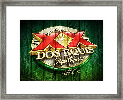 Dos Equis Barn Framed Print by Dan Sproul