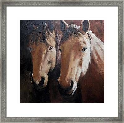 Dos Equis Framed Print by Terri  Meyer