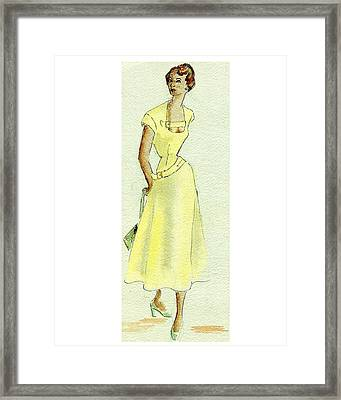 Summer Sunshine Framed Print by Beverly Solomon Design