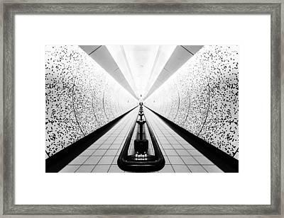 Dots Framed Print by Maico Presente