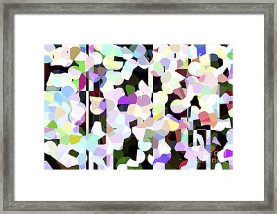 Dotted Car -part 1 Framed Print