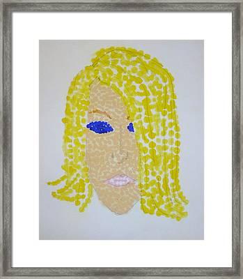 Dotty Framed Print by Erika Chamberlin