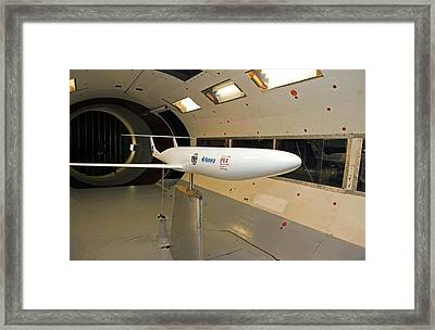 Double Bubble D8 Aircraft Model Framed Print by Nasa/mit