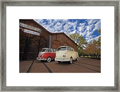Double Cab And 23 Window Framed Print